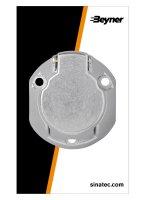 12V SOCKET 7-POLE METAL + REAR FOG LIGHT (1PC)