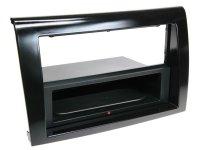 2-DIN PANEL INBAY® FIAT BRAVO 2007-2014 COLOR: PIANO BLACK (1PC)