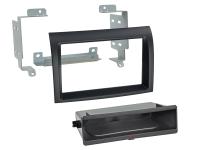 2-DIN PANEL INBAY® FIAT DUCATO - CITROËN JUMPER - PEUGEOT BOXER 11-15 COLOR: BLACK (1PC)