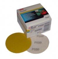 3M ™ HOOKIT ™ SANDING DISC 255P +, Ø 75 MM, WITHOUT HOLES, P320 (50PC)