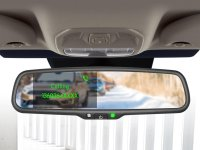 4.3 INCH MIRROR MONITOR INCL. BLUETOOTH HANDS-FREE FUNCTION 2 VIDEO INPUTS (1PC)