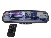 4.3 INCH MIRROR MONITOR (VERY SHARP PICTURE) 2 VIDEO INPUTS (1PC)