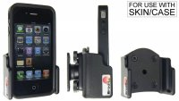 APPLE IPHONE 4 / 4S PASSIVE ADJUSTABLE HOLDER WITH SWIVELMOUNT. WITH COVER (1PC)
