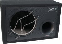 AUDIO SYS. EMPTY HOUSING WITH CARBON FRONT. BASSREFLEX HOUSING OF 29 LITERS - 25 CM BASS (