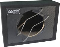 AUDIO SYS. EMPTY HOUSING WITH CARBON FRONT. CLOSED BOX 22 LITERS FOR 25 CM BASS (1PC)