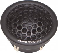 AUDIO SYS. HIGH-END 22MM SOFT DOME-UNDER MOUNTING-NEODYM TWEETER (1PC)