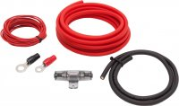 AUDIO SYS. HIGH-QUALITY CABLE SET OFC. 10MM2 (1PC)