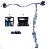 AUDIO2CAR MMI BASIC, 4 SPEAKERS AUDI A6 2004-2008 (1PC)