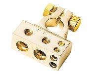 BATTERY HOUSING / POSITIVE (GOLD) 1 X 35 MM² / 1 X 20 MM² / 2X10MM (1PC)