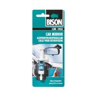 BISON CAR MIRROR ADHESIVE SYRINGE+GAUZE 2ML (1PC)