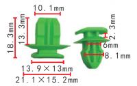 CLIP MERCEDES OE: A0009919098 (10PCS)