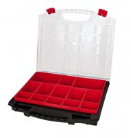 EMPTY COMPARTMENT BOX RED LOOSE CONTAINERS 430-80-13 (1PC)