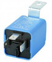 FLASHING LIGHT RELAY 12V MAX 30W LED 3-POLES (1PC)