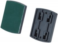 GRILL PLATE 4-CLAW LOCKING SYSTEM, WITH ADHESIVE STRIP FOR FIXING (1PC)