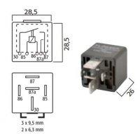 HIGH POWER MAKE RELAY 24V 40 / 30A (1PC)