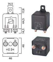 HIGH POWER MAKE RELAY 24V 40A (1PC)