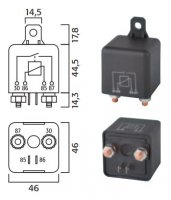 HIGH POWER MAKE RELAY 24V 70A (1PC)