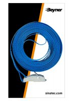 LASHING STRAP BLUE WITH QUICK FASTENER 5 METERS (1PC)