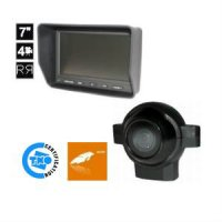 LCD MONITOR 7 HEAVY DUTY WITH FRONT VIEW CAMERA TNO / RDW APPROVED (1PC)