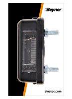 LICENSE LIGHTING 85X35MM (2PC)