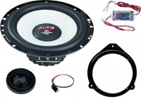 M SERIES FRONT SYSTEM 165 MM 2-WAY AUDI A3 / A4 / A6 (1PC)