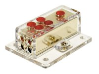 POWER DISTRIBUTION BLOCK (GOLD) 1X20 MM² IN / 4X10 MM² OUT (1PC)