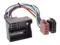 RADIO CONNECTION CABLE DIV. TYPES BMW- MERCEDES BENZ-PORSCHE-SMART-VW ISO STANDARD (1PC)