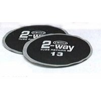 TECH 2-WAY INNER TUBE PATCH ROUND 125MM (10PCS)