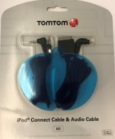 TOMTOM IPOD + AUDIO CABLE (1PC)