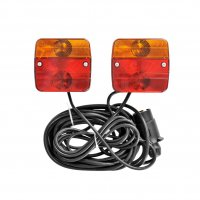 TRAILER LIGHTING SET WITH MAGNETS 7.5 + 2.5M CABLE (1PC)