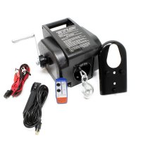 WINCH ELECTRIC 907KG + CABLE Ø6,3MM / 12MTR 12V INCL. AB (1PC)